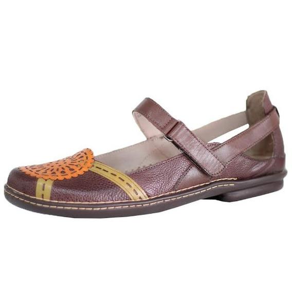 Sapato J. Gean Estilo Retrô Vintage Confort Boneca 0214