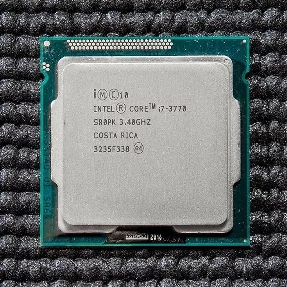 Processador Intel Core I7 3770 3.4ghz 1155 + Cooler Usado