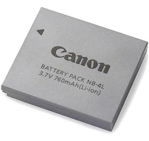 Imagem 1 de 5 de Bateria Original Canon Nb-4l P/ Câmeras Canon Powershot