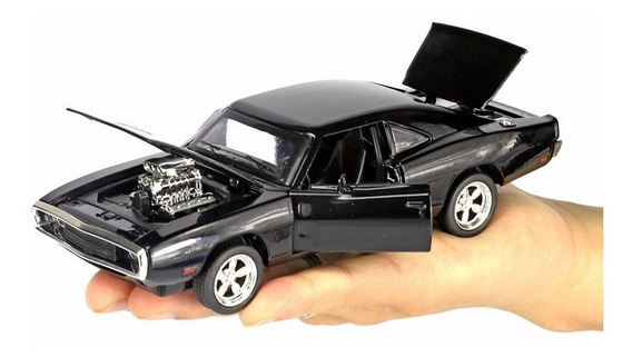 Miniatura Do Dodge Charger 1970 Em Metal