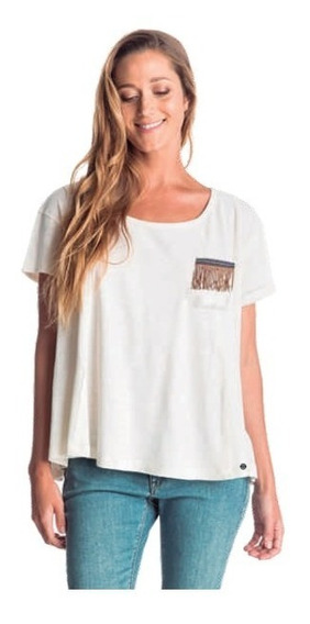 Remera Roxy Feel Flows 37202011 Cbl
