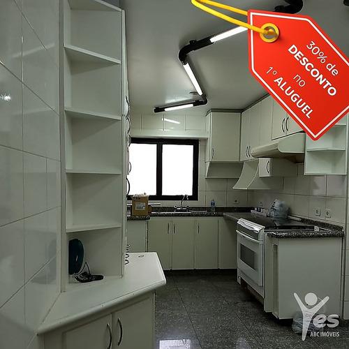 Ref.: 3324 - Apartamento, 3 Suítes, Vila Bastos, Santo André - 3324