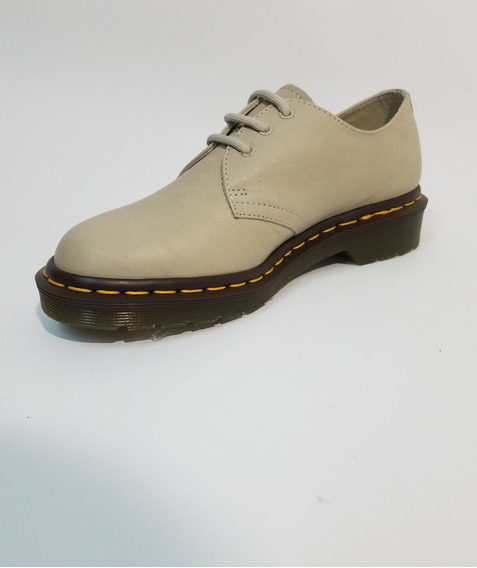 Zapato Dr Martens 1461 Ivory Mujer Crema