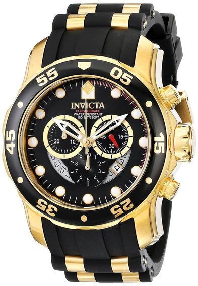 Relógio Invicta Pro Diver 6981 Dourado Original