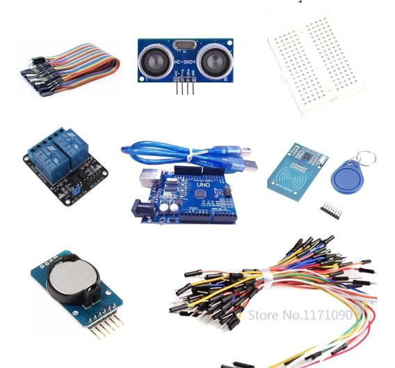 Kit Para Arduino Uno +sensor +time Clock + Relé + Cabos