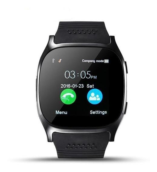 Smart Watch T8 Reloj Inteligente Celular Sim Camara Sd Bt