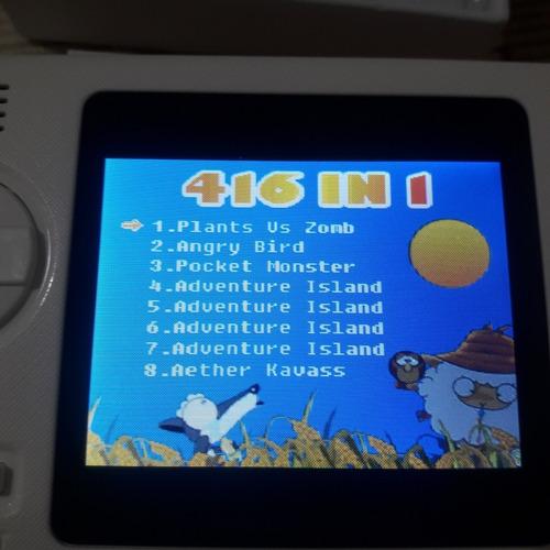 Power Bank 8000 Mah Y Consola De 416 Juegos. Equipo 2 En 1.