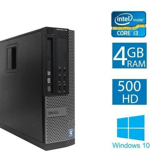 Cpu Desktop Dell Optiplex 790 Processador I3 Hd500gb Mem 4gb