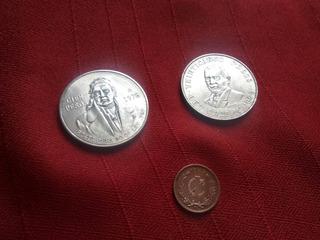 3 Monedas Mexicanas Antiguas