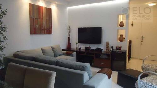 Apartamento À Venda, 142 M² Por R$ 780.000,00 - Pompéia - Santos/sp - Ap1023