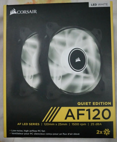 Cooler Fan 120mm Corsair Af120 2x Fans