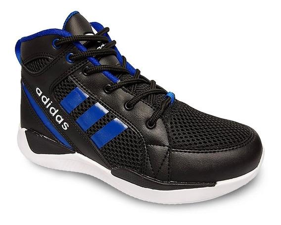 Zapato Deportivo Adiddass Corte Alto Caballero Botas Gomas