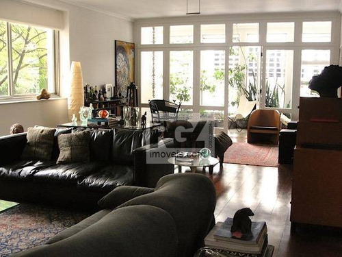 Apartamento, 360 M² - Venda Por R$ 3.880.000,00 Ou Aluguel Por R$ 19.600,00/mês - Higienópolis - São Paulo/sp - Ap7162