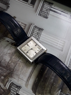 Reloj Election Automatico Cuadrado Impecable
