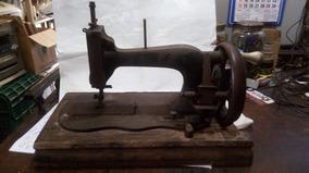 Antiguidade Maquina De Costura Manual Para Decoração Linda