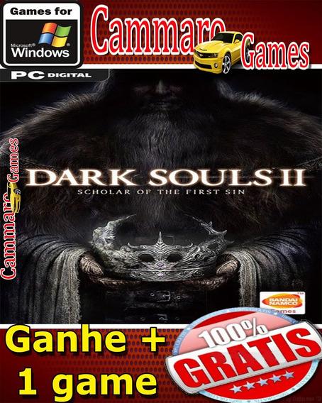 Dark Souls2 :scholar Of The First Sin Em Pt-br + 3 Games