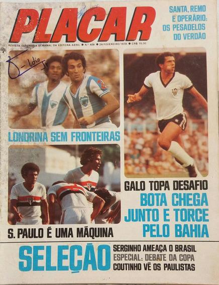 Revista Placar N° 409 - 24.02.1978