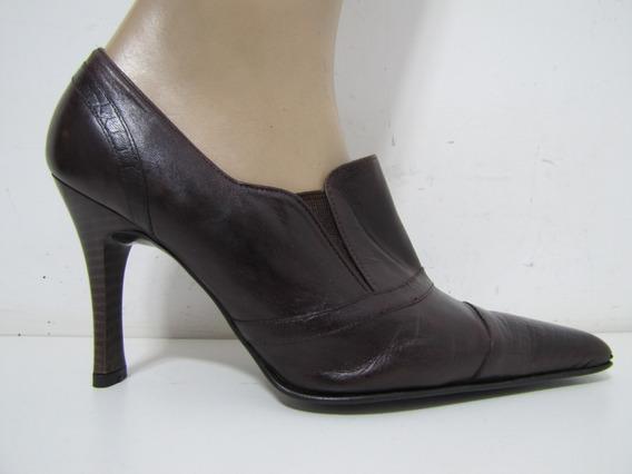 Zapatos Bruno Ferrini Cuero Marrón Talla 37 Envío Gratis¡¡