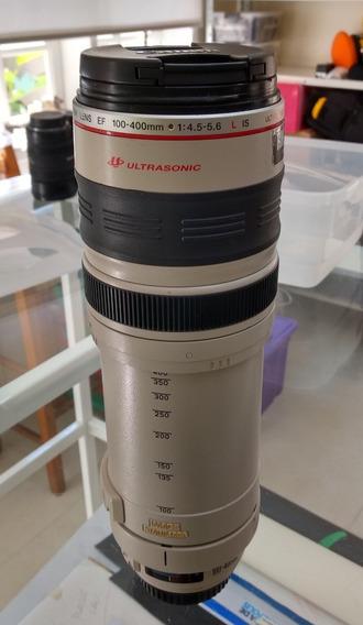 Lente Canon 100/400 Com Defeito