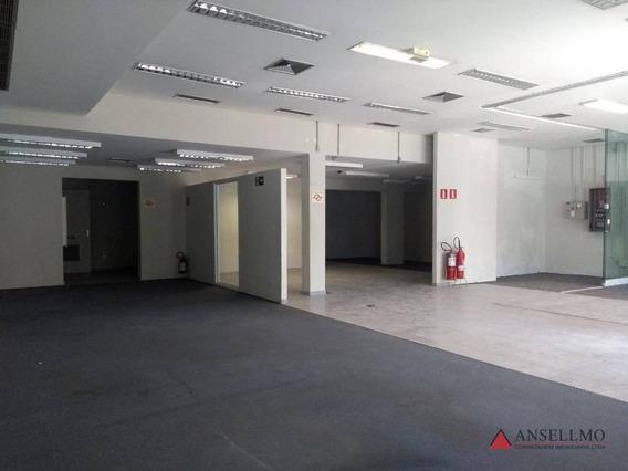 Salão Para Alugar Na Avenida Lucas Nogueira Garcez Com 400 M² Por R$ 20.000/mês - Centro - São Bernardo Do Campo/sp - Sl0334