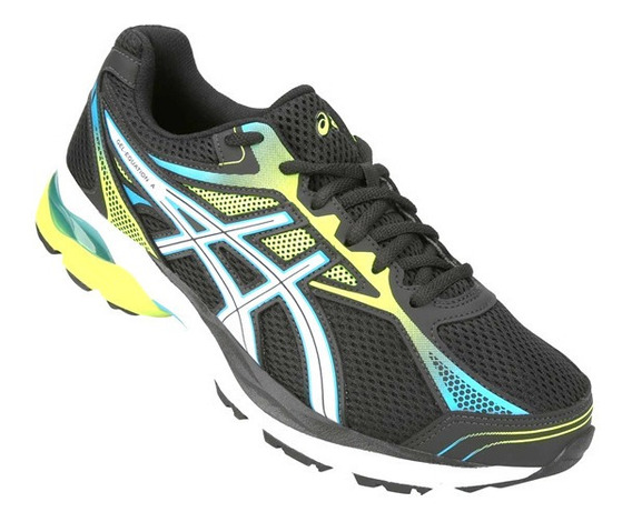 Tênis Asics Gel Equation 9 Masculino - Preto E Amarelo