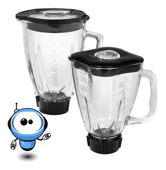 Oster Vaso Licuadora Vidr + Base + Empaque + Cuchilla + Tapa