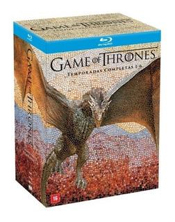 Box Blu-ray Game Of Thrones - Temporadas 1 A 6 - 30 Discos