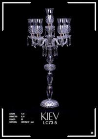 Lustre De Cristal K9 - Aaa 5 Braços Kiev - Lc73-5