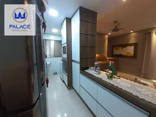 Apartamento À Venda, 69 M² Por R$ 280.000,00 - Parque Conceição Ii - Piracicaba/sp - Ap0130