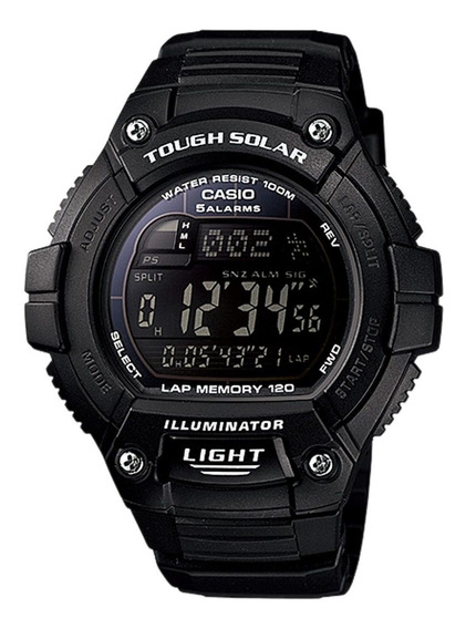 Relógio Casio Masculino Tough Solar W-s220-1bvdf.