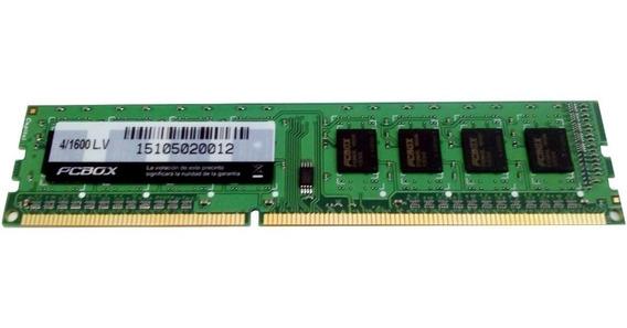 Memoria Pc 4gb Ddr3 1600 Mhz 1.5v Pcbox