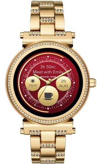 Reloj Smartwatch Mk Michael Kors Access Mkt5023 Sofie Dorado