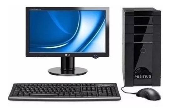 Computador Completo Dual Core + Monitor 16.4 Varias + Wi-fi