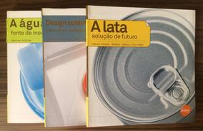Coleção De Livros Sobre Design Sustentável Do Senac