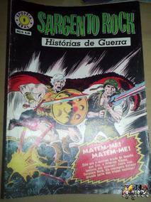 Sargento Rock Nº 09 Editora Ebal - Histórias De Guerra - Dc