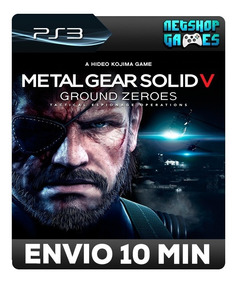 Metal Gear Solid V: Ground Zeroes - Psn Ps3 - Pronta Entrega