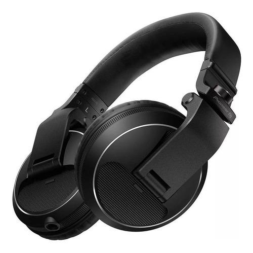Audífonos Pioneer Hdj- X5 K Negro Para Dj Tipo Diadema Full
