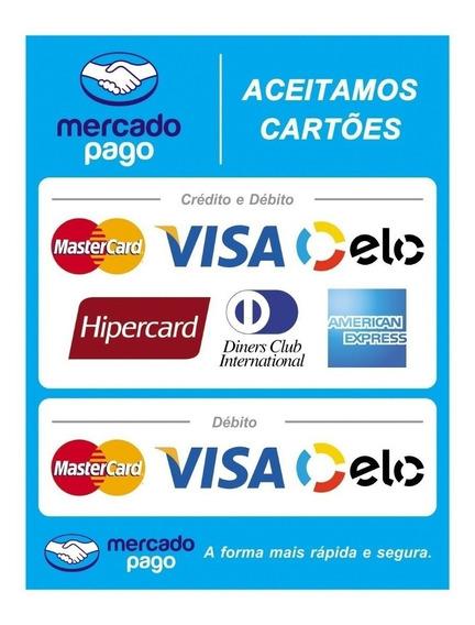 Adesivo Bandeiras De Cartões De Crédito E Debito