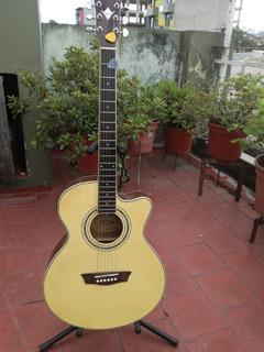 Guitarra Electroacústica Washburn Ea15n