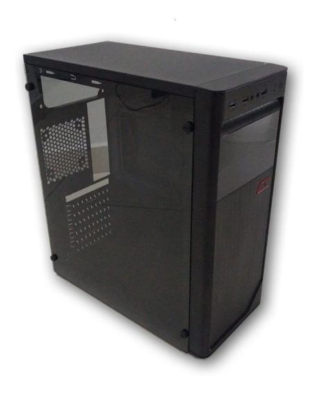 Gabinete Gamer Atx Mod 3602 Lateral Acrilica C/ Usb 3.0 Nf-e