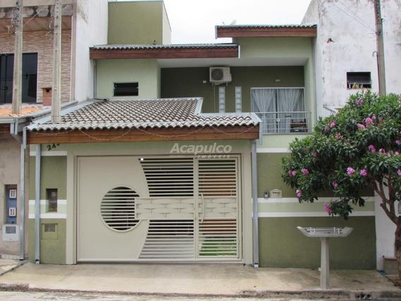 Casa À Venda, 3 Quartos, 2 Vagas, Loteamento Residencial Jardim Esperança - Americana/sp - 11036