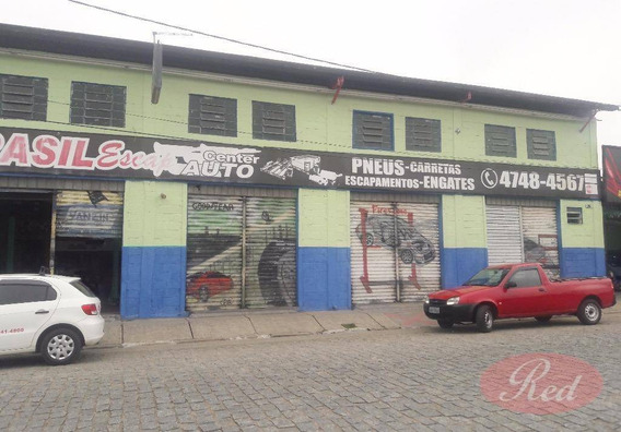 Galpão Comercial Para Locação, Jardim Monte Cristo, Suzano. - Ga0031