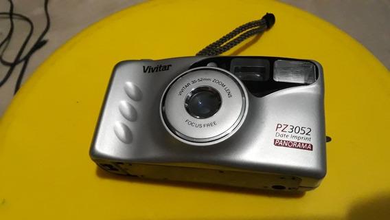 Câmera Fotográfica Analógica Antiga Vivitar Pz 3052 Panorama