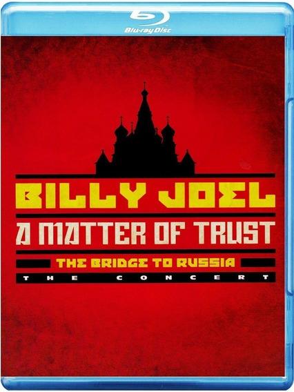 Blu-ray Billy Joel - A Matter Of Trust Lacrado Importado