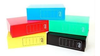 Cajas De Archivo Plásticas Plana Legajo X 25u. Color A Elec
