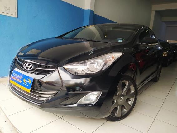 Hyundai - Elantra 2.0 Flex - 2013 Aceito Troca - Financio