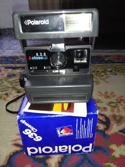 Camera Polaroid Closeup 636 Na Caixa Funcionando!!!!