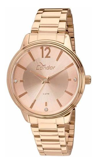 Relógio Condor Feminino Co2035kvp/4j Rose Analogico Oferta