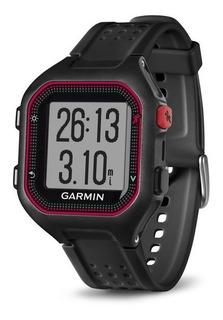 Reloj Gps Garmin Forerunner 25 Negro/rojo