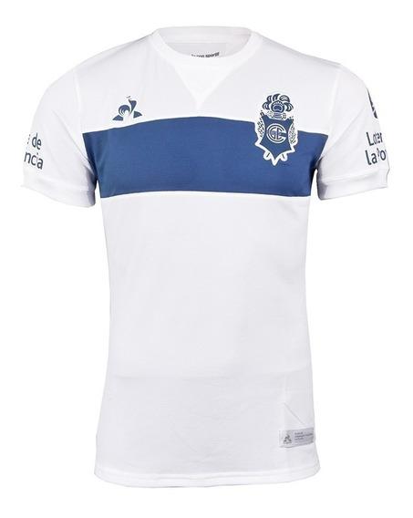 Camiseta Gimnasia La Plata (gelp) - Le Coq Sportif 2018 Blanca Histórica Retro - Nueva - En La Plata